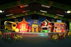 children's church stage | Via Shinobu Carmichael