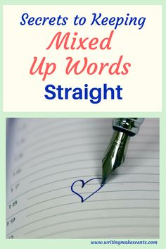 Tricks and tips for keeping commonly mixed up words straight. Look like a pro and be confident when using easily mixed up words with these simple tricks. Business Writing Skills, Word Check, Copywriting, I Am Happy, The Secret, Blogging, How To Get, Group, Words