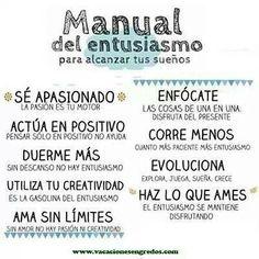 Manual del entusiasmo