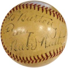 Babe Ruth Autographed Baseball (PSA/DNA) Just listed today from www.HollywoodCollectibles.com  Nice clean Babe Ruth Signature.  Priced to sell this will not last long.  Click: http://www.hollywoodcollectibles.com/babe-ruth-autographed-baseball-psa-dna.html for a direct link.