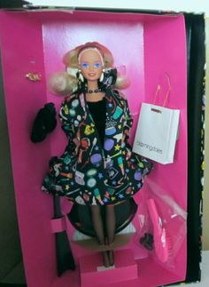 BLOOMINGDALE'S+SAVVY+SHOPPER+BARBIE+DESIGNED+BY+NICOLE+MILLER+NRFB+#DollswithClothingAccessories $10