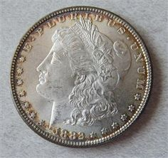 1882 Silver Morgan Dollar US Coin Featured in our upcoming auction on June 14!