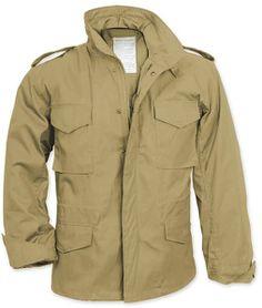 Khaki Military M-65 Field Jacket | 8254 | $66.99