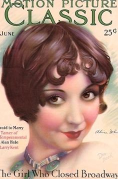 Alice White - Motion Picture Classic Magazine [United States] (June 1928)