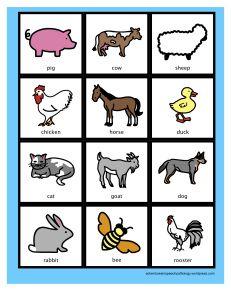 Animal farm themes language and custom paper example Speech Language Therapy, Speech Language Pathology, Speech Therapy Activities, Speech And Language, Farm Unit, Farm Theme, Language Development, Classroom Inspiration, Farm Animals