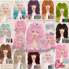 .Olive. the Eilfie Hair and Clip Gacha! Key | Flickr - Photo Sharing!