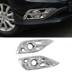 $38.81 (Buy here: https://alitems.com/g/1e8d114494ebda23ff8b16525dc3e8/?i=5&ulp=https%3A%2F%2Fwww.aliexpress.com%2Fitem%2F2016-Car-Styling-2-Pcs-Set-ABS-Trim-Protection-Accessories-Front-Fog-Lamp-Daytime-Running-Light%2F32682522357.html ) 2016 Car Styling 2 Pcs/Set ABS Trim Protection Accessories Front Fog Lamp Daytime Running Light Cover For Honda CRV 2012-2014 for just $38.81