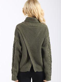 WealFeel Baby Come Back Knit Sweater 590160e7a430