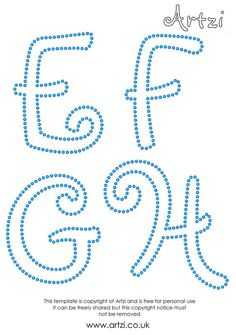Welcome to Artzi - the UK home of the Sawgrass FabricMaker cotton printing system, hotfix rhinestones, cotton printables and much String Art Patterns Letters, String Art Letters, String Art Diy, String Art Templates, Alphabet Templates, Letter Patterns, Free Printable Letter Stencils, Printable Letters, Rhinestone Art