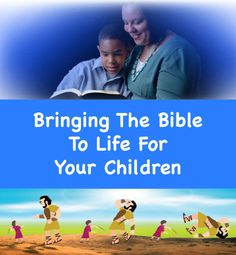 Bringing The Bible To Life For Your Children - http://www.theminiark.com/bringing-the-bible-to-life-for-your-children/
