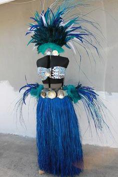 Full Tahitian costumes