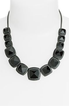 MARC BY MARC JACOBS 'Ice Cubes' Stud Statement Necklace