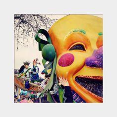Mardi Gras Mask Float: square fine art by UninventedColors on Etsy