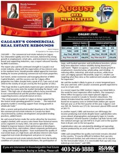 Calgary Real Estate Newsletter October Page 1   Calgary Real ...