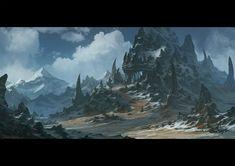 Blind horror Cave, Todor Hristov on ArtStation at https://www.artstation.com/artwork/Qz9al