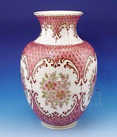 Zsolnay Natural Color Vase Signed