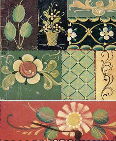 styles of rosemaling | Mon carnet: norwegian rosemaling inspiration