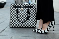 LA by Diana: Monochrome and Check