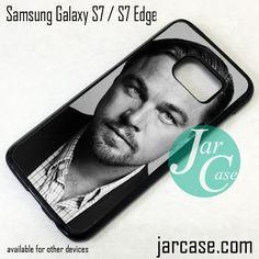 Leonardo Di Caprio Cool Photo Phone Case for Samsung Galaxy S7 & S7 Edge