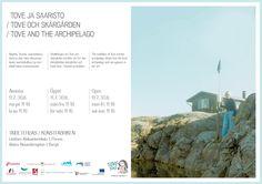 Tove Jansson exhibition in Taidetehdas, Porvoo 23014 Tove Jansson, Archipelago, The Locals