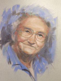 pan pastel portrait - Google Search