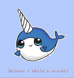 funny narwhal pictures | Cute Narwhal by *Sweet-Fizz on deviantART