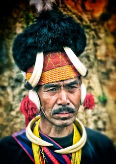 Another Nagaland warrior #nagaland #warrior #travel #portrait #face