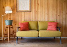 BPMT Sofa, Couch, Bordeaux, Love Seat, Pine, Furniture, Home Decor, Pine Tree, Settee