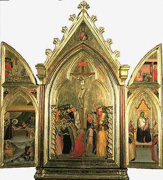 Triptych by Bernardo Daddi (1338) - National Galleries of Scotland