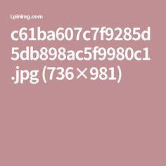 c61ba607c7f9285d5db898ac5f9980c1.jpg (736×981)