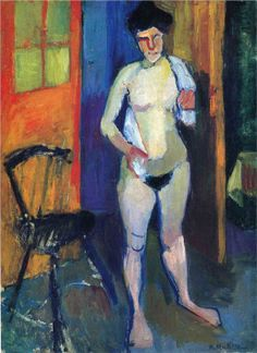 Nude with a White Towel, 1902-1903			Henri Matisse