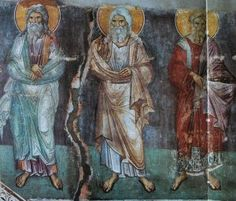 Manuil Panselinos: Frescele Bisericii Protaton din Karyes (199 fotografii) | Sfântul Munte Athos Illuminated Manuscript, Byzantine, Fresco, Holi, Saints, Painting, Mosaics, Interiors, Projects