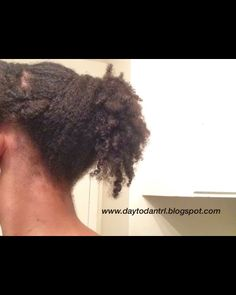 My Natural Hair Journey: Waterfall ponytail (with a twist) tutorial