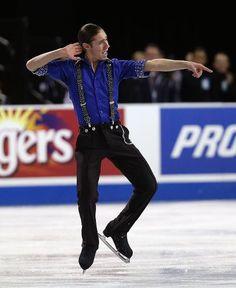 Jason Brown, Men's short at Skate America 2014, Men's Figure Skating / Ice Skating outfit inspiration for Sk8 Gr8 Designs.