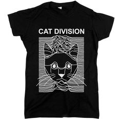 """You can show your appreciation for cats, music, and science all at the same time when you wear our """"Cat Division"""" tee. Bring happiness to everyone who sees it."""