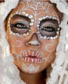 Winter skull