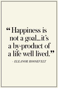 Happiness is not a goal ... it's a by-product of a life well lived. ❤️ #ThaiCaveRescue #MondayMotivation #WorldChocolateDay #AI #marketing #socialmedia #leadership #business #BigData #quote #IoT #Marketing #Business