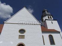 Fassade der Pfarrkirche St. Johann Baptist in Schloß Holte-Stukenbrock