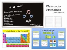 My Froggy Stuff: Science Classroom Printables: For Dolls with Creative Minds: Plus more Classroom Stuff