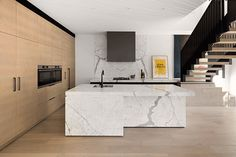 East Gallery House, Brighton, Architect Designed Kitchen, Calacutta Marble, Extension, Renovation