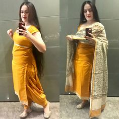 Designer Punjabi Suits Patiala, Indian Designer Suits, Indian Suits, Indian Attire, Indian Dresses, Short Kurti Designs, Kurta Designs Women, Salwar Designs, Saree Blouse Designs
