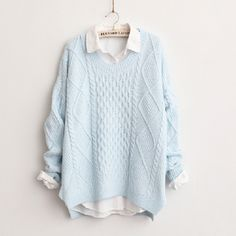 """Fashion students sweater Cute Kawaii Harajuku Fashion Clothing & Accessories Website. Sponsorship Review & Affiliate Program opening! simple and decent awesome color~ use this coupon code """"cute8"""" to get all 10% off shop now for lowest price."""