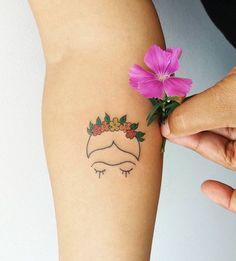 """8,069 curtidas, 171 comentários - Tattoo2me (@tattoo2me) no Instagram: """"Tatuagem feita por @marizaragoza.tpm Frida! Siga o artista e acesse o nosso site. Em breve,…"""""""