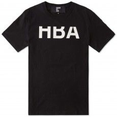 Hood By Air Rehab Logo Tee (Black & White)