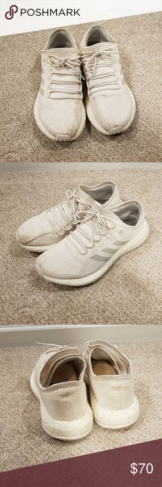 Pure boost clima cool tripple white Good condition. Will clean before  shipping. 100% 536142cce