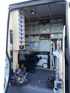 New Van Racking