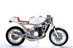 Beautifully modified Yamaha RZ350