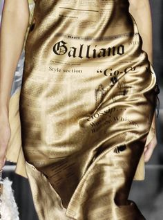 John Galliano . . .  director designer MMM 2015
