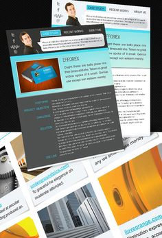 8 sets of free indesign cvresume templates