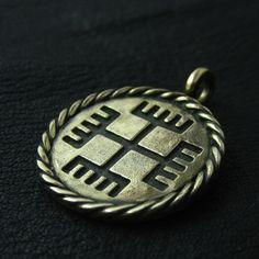 "Bronze ""Hands of God"" pendant from The Sunken City by DaWanda.com"